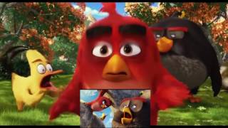 getlinkyoutube.com-Angry Birds Movie has a sparta angry birds star wars remix