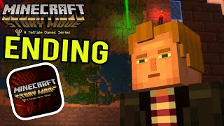 getlinkyoutube.com-Minecraft Story Mode (iPhone/iOS/Android) Walkthrough Part 6: ENDING 100% COMPLETE Gameplay