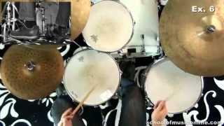 getlinkyoutube.com-Swing Drumming - Advanced Snare & Kick Combinations