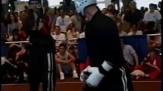 getlinkyoutube.com-1996 U.S. Open World Karate Tournament Fighting Elimination Highlights