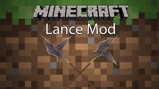 getlinkyoutube.com-Minecraft Mod รีวิว - Mod อัศวิน | Lance Mod