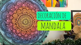 getlinkyoutube.com-Mandalas para la pared! DIY | Zentangle Art