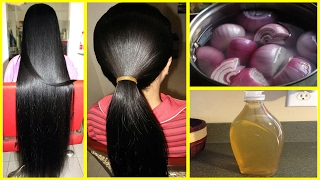 How To Grow Long and thicken Hair Naturally and Faster   Magical Hair Growth Treatment 100% Works
