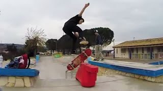 getlinkyoutube.com-Skrillex - Recess (Flux pavillon remix) SKATE CLIP