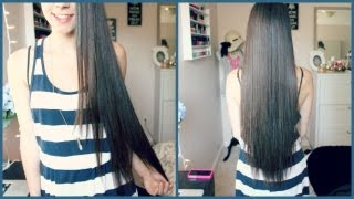 getlinkyoutube.com-Hair Care Routine & Tips for Growing Hair Long Fast!