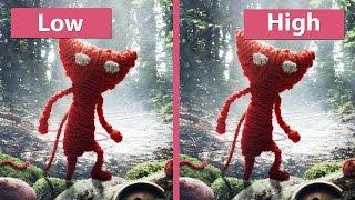 getlinkyoutube.com-Unravel – PC Low vs. Medium vs. High Graphics Comparison
