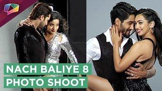 Nach Baliye 8 Photo Shoot Begins | Monalisa - Vikram | Sanam - Abigail