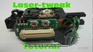 getlinkyoutube.com-How to fix broken xbox 360 drive - Lasertweak [EN] [DE] [HD]