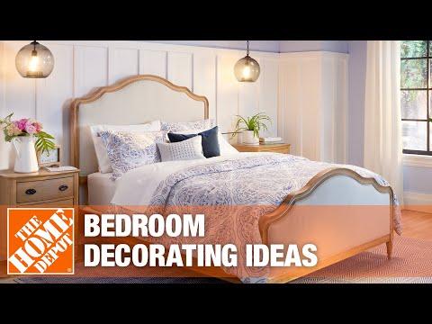 Creative bedroom decor ideas.