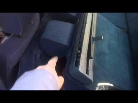 Инструкция складывания задних сидений mercedes w124