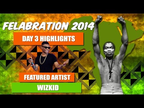 Wizkid Felabration 2014 Performance