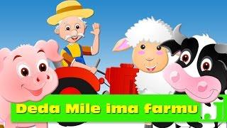getlinkyoutube.com-Deda Mile ima farmu | Old MacDonald Had a Farm | Dečije pesme | Pesme za decu