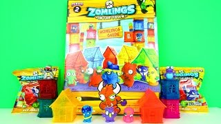 getlinkyoutube.com-Zomlings Series 2 Collectors Guide Pack + Exclusive Silver Tower & Zomling Figures, Magic Box Int