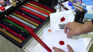 getlinkyoutube.com-How to use a Traditional Sealing Wax