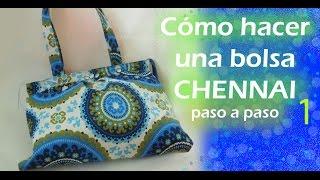 getlinkyoutube.com-Cómo hacer una bolsa de tela / CHENNAI / paso a paso / TUTORIAL / parte 1 / Inerya viris