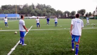 getlinkyoutube.com-Soccer Passing Skills Game