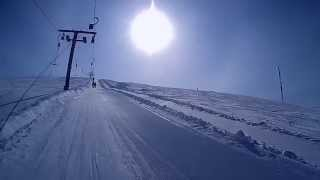 getlinkyoutube.com-Ylläs Ski Resort, Lapland, Finland