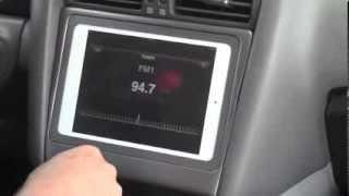 getlinkyoutube.com-Fifield Fabrications builds a iPad mini in a dash of a Lexus GS300 with their MINI-U kit
