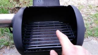 Rocket stove bbq grill