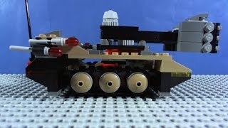getlinkyoutube.com-LEGO Ultra Agents Tremor Track Infiltration 70161