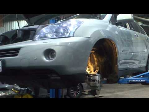 Lexus RX 400H замена сайлентблоков со снятием рычагов