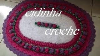 getlinkyoutube.com-Croche- Tapete Brinco De Princesa2- Passo A Passo - Parte 1