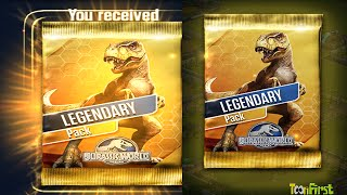 getlinkyoutube.com-Jurassic World™ The Game: Opening Legendary Pack - T Rex Challenge Succeed