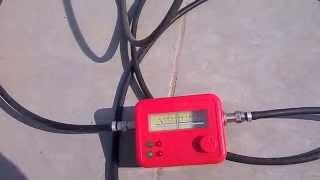 getlinkyoutube.com-How to use analouge Satellite dB Meter