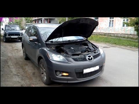 Двигатель после 7000км на Лукойл GENESIS на Mazda CX-7(ТО,разгон,ра сход)