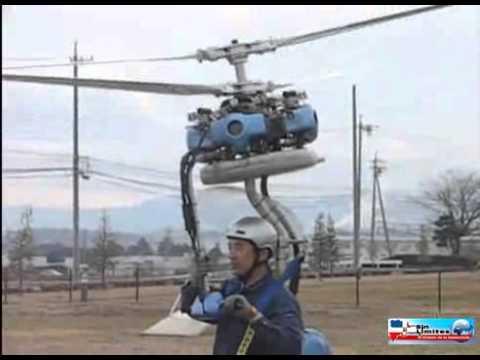 El helicoptero mas pequeño del mundo.