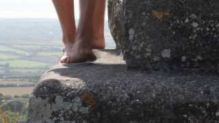 Barefoot Walk at Godolphin House in West Cornwall