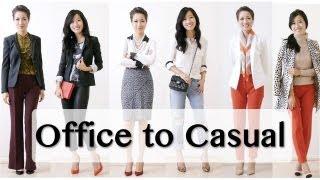 getlinkyoutube.com-Office to Casual Wear with ExtraPetite!