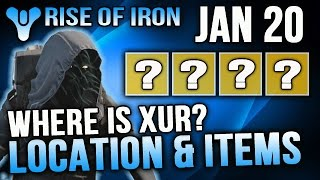 getlinkyoutube.com-Xur Location Jan 20 2017 Destiny Where is Xur 1/20/2017 Destiny The Dawning