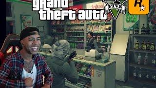 getlinkyoutube.com-GTA 5| Store Robbery's | Prostitute Pickups & Funny Moments! - Prettyboyfredo