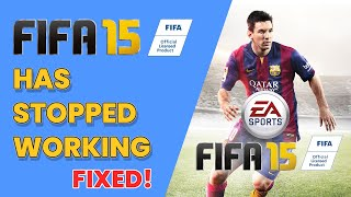 FIFA 15 Launcher has stopped working - Error Fixed