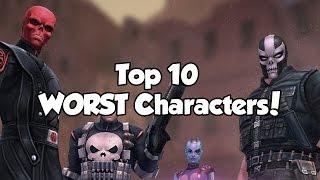 getlinkyoutube.com-[Marvel Future Fight] Top 10 WORST Characters!