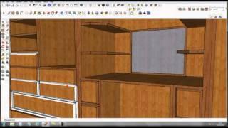 getlinkyoutube.com-Google sketchup pro 8, furniture design, part 2, by rahgsa0509
