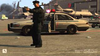 getlinkyoutube.com-GTA 4 Police War Airport shooting