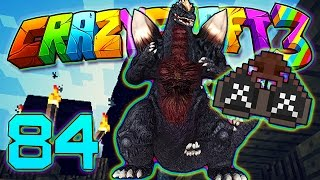 getlinkyoutube.com-Minecraft Crazy Craft 3.0: KILLING THE KING & MOBZILLA WITH CHEMICAL-X! #84 (Moded Roleplay)