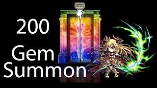 getlinkyoutube.com-Brave Frontier | Episode #59: 200 Gem Summon for Zellha!