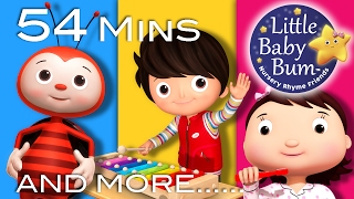getlinkyoutube.com-Nursery Rhymes Volume 8 | Plus Lots More Nursery Rhymes | 54 Minutes Compilation from LittleBabyBum!