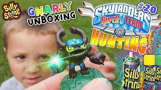 getlinkyoutube.com-Gnarly Barkley SILLY STRING Unboxing + Skylanders Superchargers @ TOYS R US (Trap Team Hunting # 20)