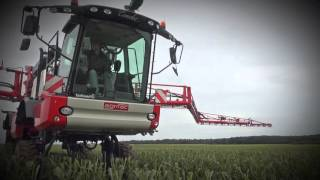 The new Agrifac Condor ClearancePlus self propelled sprayer from Bridonneau (FR)