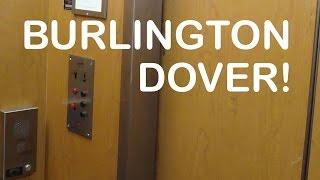 getlinkyoutube.com-Vintage Burlington Dover hydraulic elevator at modells sporting goods Jamaica NY