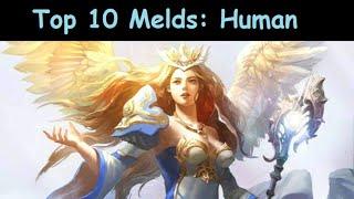 getlinkyoutube.com-Deck Heroes: [HUMAN] Top 10 Melds 4-Star Creatures