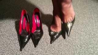 getlinkyoutube.com-Change of High Heels