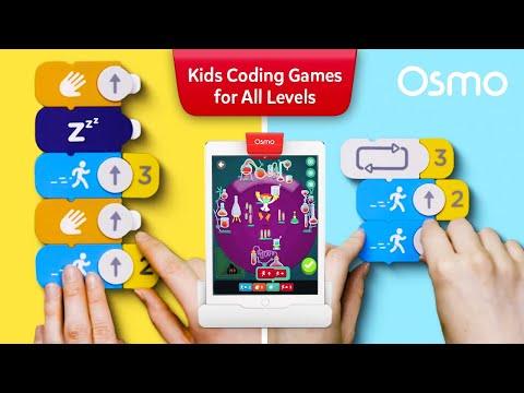 Osmo Coding Starter Kit for iPad - Ages 5-10 (Osmo Base Included)