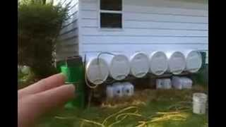 getlinkyoutube.com-Water catchment system rain collection and filtration. Live off the grid, work from home!