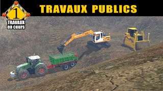 getlinkyoutube.com-Farming simulator 15 / travaux publics  / by FT MODDING /épisode 1