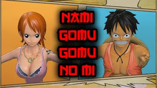 getlinkyoutube.com-One Piece Pirate Warriors 3 - NAMI WITH GOMU GOMU NO MI MOD
